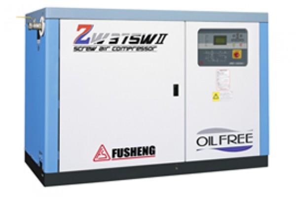 Máy nén khí trục vít không dầu ZW555A