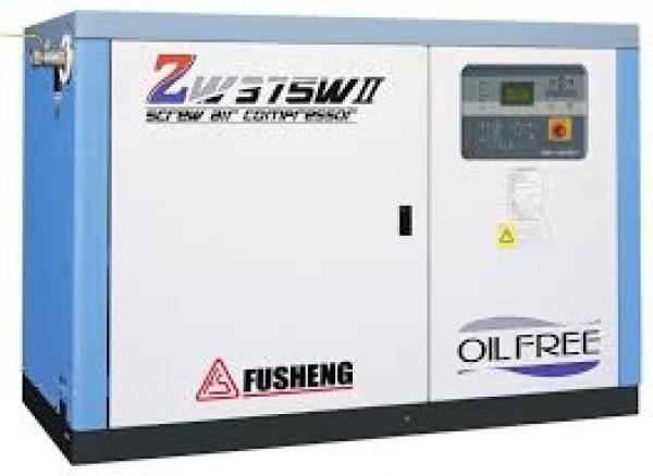 Máy nén khí trục vít không dầu ZW155A
