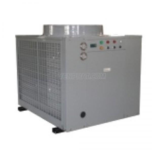 Chiller gió giải nhiệt có bình điều tải